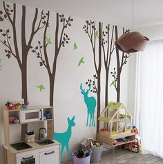 Product Description Color:Default Color as 1st Picture. Measurement:240cm(H)*265cm(W)(1cm=0.39in) Material:High Quality Vinyl Need to use transfer paper.Please visit our installation tutorial page fir