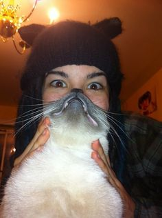 The 25 Most Epic Cat Beards Of All Time. I personally know one of the girls in this cat beard epicness!