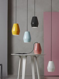 "BELL"" porcelain lighting by Northern Lighting 