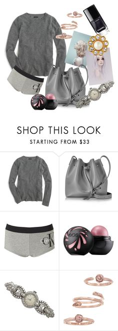 """pretty little things"" by myfictionlife ❤ liked on Polyvore featuring J.Crew, Lancaster, Calvin Klein Underwear, Kendra Scott and Kate Spade"