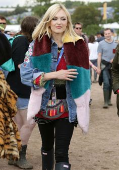 Fearne Cotton at Glastonbury 2014