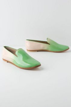 Watermelon Ombre Loafers - Anthropologie.com