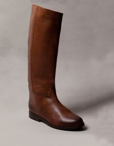 BRUSHED LEATHER BOOTS - WOMEN'S SHOES - SHOES - Romania