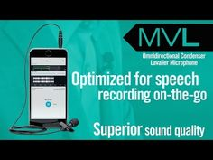 Shure MOTIV MVL Lavalier Microphone - YouTube