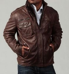 http://www.alanic.com/buy-mens-clothing/designer-jackets/leather-jacket-for-man/dark-brown-leather-jacket