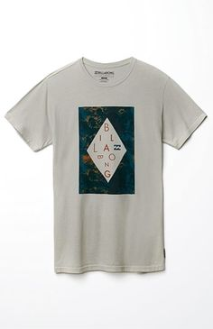 3285702ebe6f4c Billabong carves out a jumbled look through this marbled men s tee. The  Alabash T-