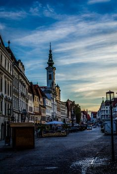 Steyr (Austria) - Stadtplatz by Ralf Molzbichler on Visit Austria, Austria Travel, Steyr, Places To Travel, Places To See, Travel Destinations, Carinthia, Best Travel Deals, Central Europe