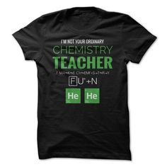 Make this awesome proud Teacher: Chemistry Teacher - Making Chemistry Fun as a great gift job Shirts T-Shirts for Teachers