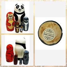 "Panda Bear And Asian Animals 5-Piece 4.5"" Russian Nesting Doll #nestingdoll #stackingdoll #babooshkadoll #lacquerbox #matryoshka #Russiantoy #nesteddoll #Russiangifts #babushka #Russiandoll #nestingdolls #dollindoll #Woodendolls #Russianbox Educational Toys For Kids, Kids Toys, Unique Gifts For Kids, Lemur, Wooden Dolls, Orangutan, Snow Leopard, Panda Bear, Asian"
