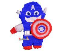 χειροποιητη πινιατα ολοσωμη captain america 2d Captain America, Fictional Characters, Fantasy Characters