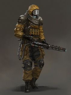 Kai Fine Art is an art website, shows painting and illustration works all over the world. Post Apocalypse, Apocalypse World, Apocalypse Survival, Armor Concept, Concept Art, Cyberpunk, Apocalypse Character, Post Apocalyptic Art, Apocalyptic Clothing