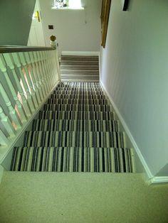 best hallway carpets | Landing Carpet, Coordinating Stairs Carpet and Luxury Vinyl Hallway