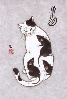 Kazuaki Horitomo gatos tatuados 5