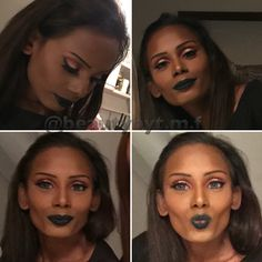 Black lips  follow me on Instagram: @beautybyt.m.f