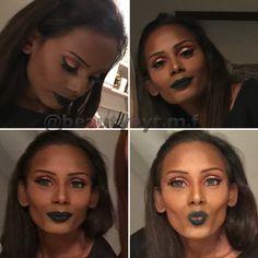 Black lips  follow me on Instagram: @beautybyt.m.f