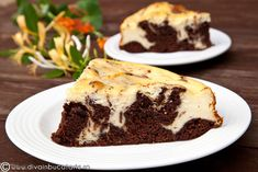 RETETE DE CHEESECAKE | Diva in bucatarie Brownie Cheesecake, Ricotta, Love Food, Food And Drink, Sweets, Desserts, Recipes, Romanian Recipes, Tailgate Desserts
