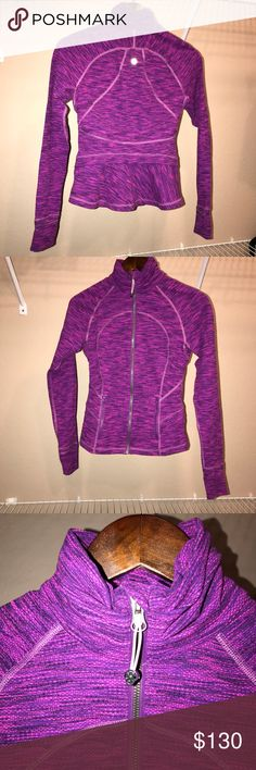 Lulu Lemon Knit Define Jacket Perfect Condition . lululemon athletica Jackets & Coats