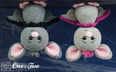 Ravelry: Brook the Tiny Bat Amigurumi pattern by Carolina Guzman