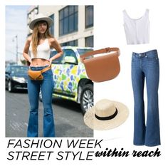 """NYFW street style, day two. Within reach"" by karensmedley on Polyvore featuring Forever 21, LC Lauren Conrad, StreetStyle and NYFW"