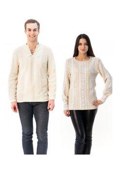 Сімейний комплект «Полісся» складається з жіночої та чоловічої в'язаних вишиванок. Pullover, Sweaters, Fashion, Moda, Fashion Styles, Sweater, Fashion Illustrations, Sweatshirts, Pullover Sweaters