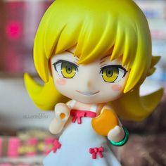 Nendoroid Bakemonogatari SHINOBU OSHINO Premium Item Box Figure Anime Japan USED