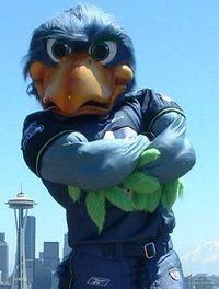Blitz - Seahawks Mascot