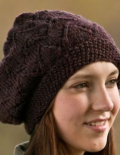 Vintage Swish Hat - Knitting Patterns and Crochet Patterns from KnitPicks.com