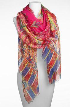 Tasha 'Polished Paisley' Scarf available at #Nordstrom  Style Advisory says: polish up any daytime look with this scarf.   #holidaygiftidea