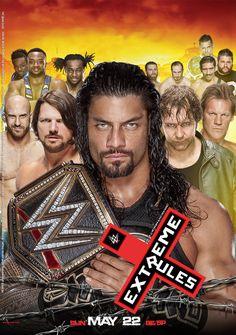 WWE Extreme Rules 2016 Poster by edaba7.deviantart.com on @DeviantArt