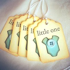 Onesie Tags - Baby Boy - Customizable Colors on Etsy, $8.75