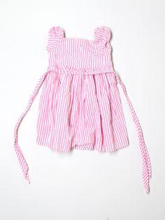 candy striper dress by Ralph Lauren