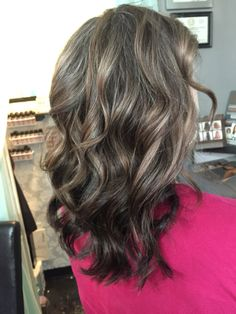 Ash gray highlights and dark ash base color. By Tayler Namanny