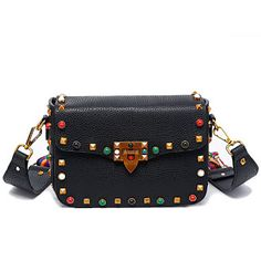 2017 Luxury handbags women bags designer crossbody bags for women fashion stud shoulder bags famous brand women messenger bags (32707189331)  SEE MORE  #SuperDeals