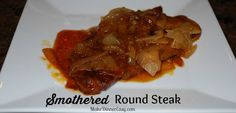 A budget friendly recipe for Round Steak that is baked in a yummy bbq sauce!