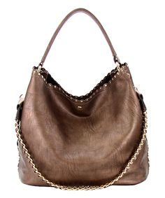 Bronze Toujours 2-in-1 Shoulder Tote