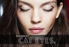 minimalist cat eye