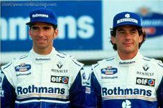 Ayrton Senna: Todos os companheiros de equipe Damon Hill / Williams 1994