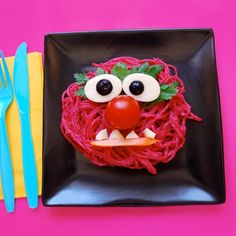 Animal's Punk Pink Pasta - Beets are the secret to this tasty dish -- they give the pasta a subtly sweet and nutty flavor and an electric pink color. This dish is perfect for getting picky kids to eat their veggies, and Animal is sure to approve!