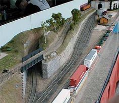Facebook Twitter Pinterest GUMSTUMPING! In the late 1950's Chuck Yungkurth, who then lived in northern Pennsylvania, designed and built this small shelf layout called the Gum Stump & Snowshoe Railroad. The pike was written...