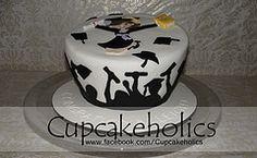 Graduation Cake por Cupcakeholics