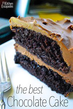 My kitchen escapades the best chocolate cake the best chocolate cake