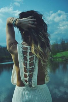 Trailing Jade Dress styled by fpkatiepossage on FP Me #freepeople #fpme