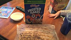 On the morning of Monday, March 2, 2015, Stephane Gaudette, a history teacher and father of two in Timmins, Ontario, opened a box of Kellogg's Frosted Flakes and was surprised to find a message wit...
