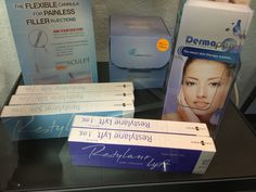 Dermapen microneedling: collagen induction technique for skin AND Restylane products for volumization