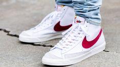 BRICK SQUAAAAD! NIKE BLAZER MID '77 VNTG WORN BRICK On Feet Sneaker Review Hypebeast, Streetwear, Basketball, Sport, Nike Sneakers, Brick, Pairs, Blazer, Fashion