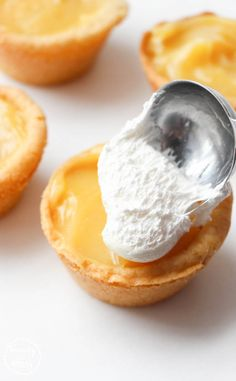 Perfect for tea parties, brunch, or any time you want a bite-sized treat. These Cheater Mini Lemon Meringue Pie Cookie Cups are sure to please.