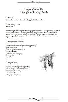 advanced potion making pages pdf