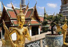 Wat Phra Kaew (Jade Buddha Temple), Bangkok, Thailand