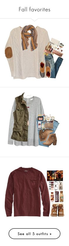 """""""Fall favorites"""" by katherinecat14 ❤ liked on Polyvore featuring Daniel Wellington, Urban Outfitters, American Eagle Outfitters, L.L.Bean, Urban Decay, Kate Spade, Guerlain, Too Faced Cosmetics, NARS Cosmetics and Hinge"""