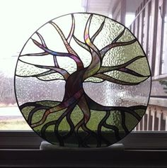 Tree Of Life - Delphi Stained Glass.